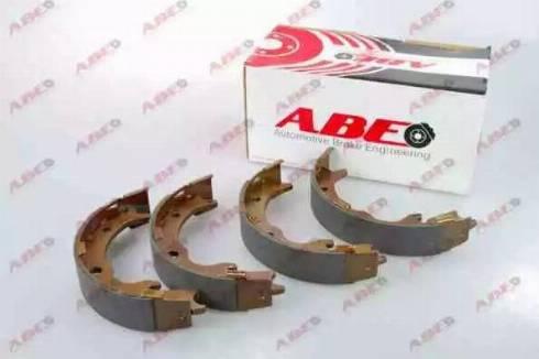 ABE C04019ABE - Jeu de mâchoires de frein, frein de stationnement www.widencarpieces.com