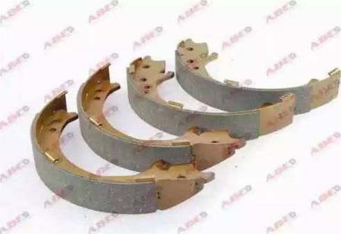 ABE C04020ABE - Jeu de mâchoires de frein, frein de stationnement www.widencarpieces.com