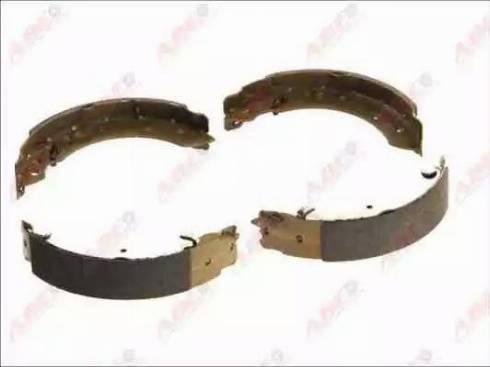 ABE C05063ABE - Jeu de freins, freins à tambour www.widencarpieces.com