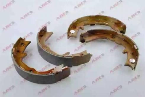 ABE C05062ABE - Jeu de mâchoires de frein, frein de stationnement www.widencarpieces.com