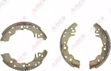 ABE C06016ABE - Jeu de freins, freins à tambour www.widencarpieces.com