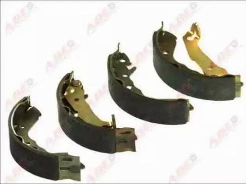 ABE C00501ABE - Jeu de freins, freins à tambour www.widencarpieces.com