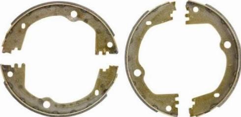 ABE C00534ABE - Jeu de mâchoires de frein, frein de stationnement www.widencarpieces.com
