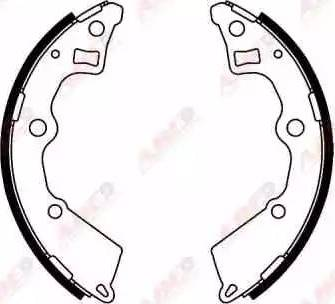 ABE C00321ABE - Jeu de freins, freins à tambour www.widencarpieces.com