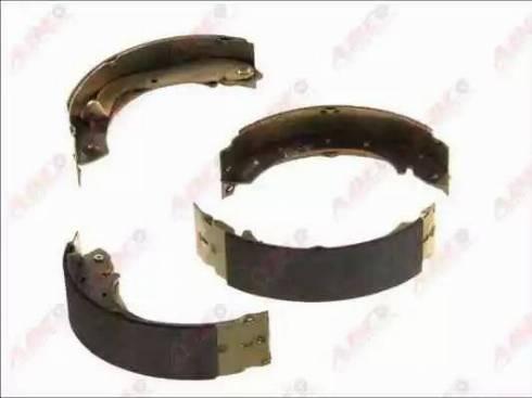 ABE C01046ABE - Jeu de freins, freins à tambour www.widencarpieces.com