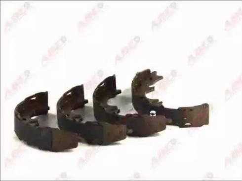 ABE C02081ABE - Jeu de mâchoires de frein, frein de stationnement www.widencarpieces.com