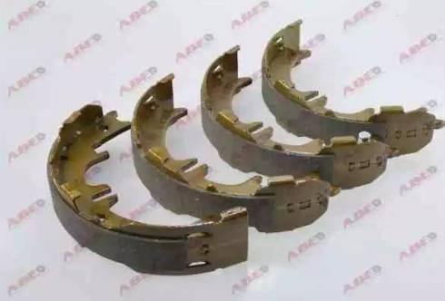 ABE C02077ABE - Jeu de mâchoires de frein, frein de stationnement www.widencarpieces.com