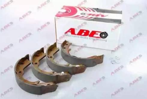 ABE C07012ABE - Jeu de mâchoires de frein, frein de stationnement www.widencarpieces.com