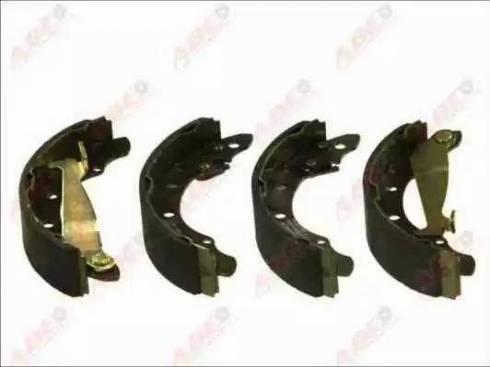 ABE C0A002ABE - Jeu de freins, freins à tambour www.widencarpieces.com