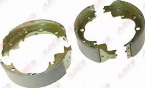 ABE C0E001ABE - Jeu de freins, freins à tambour www.widencarpieces.com