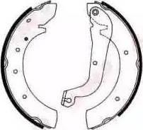 ABE C0F005ABE - Jeu de freins, freins à tambour www.widencarpieces.com