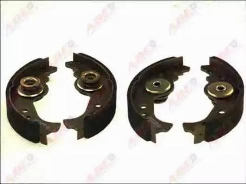 ABE C0F001ABE - Jeu de freins, freins à tambour www.widencarpieces.com