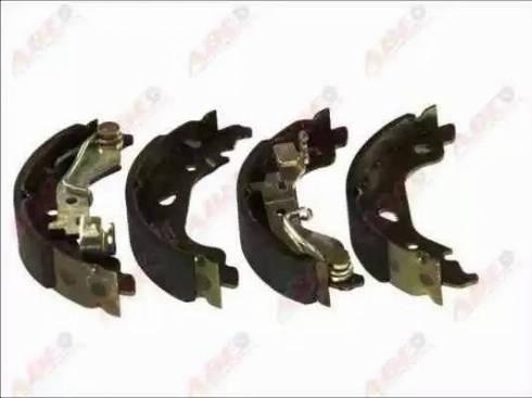 ABE C0F019ABE - Jeu de freins, freins à tambour www.widencarpieces.com