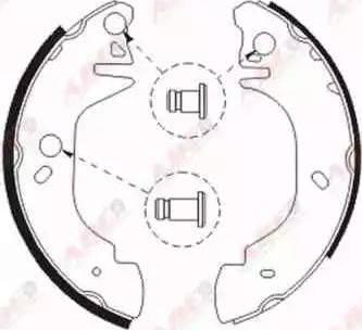 ABE C0G049ABE - Jeu de freins, freins à tambour www.widencarpieces.com