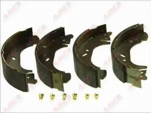 ABE C0G048ABE - Jeu de freins, freins à tambour www.widencarpieces.com