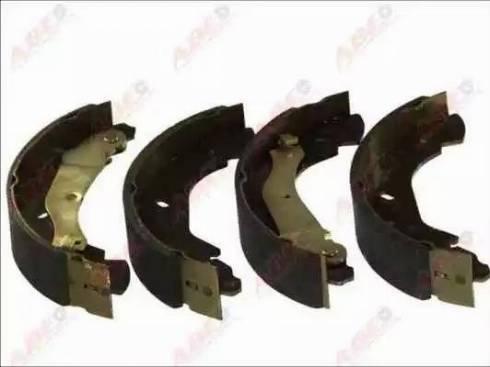 ABE C0G051ABE - Jeu de freins, freins à tambour www.widencarpieces.com