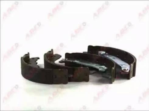 ABE C0P033ABE - Jeu de freins, freins à tambour www.widencarpieces.com