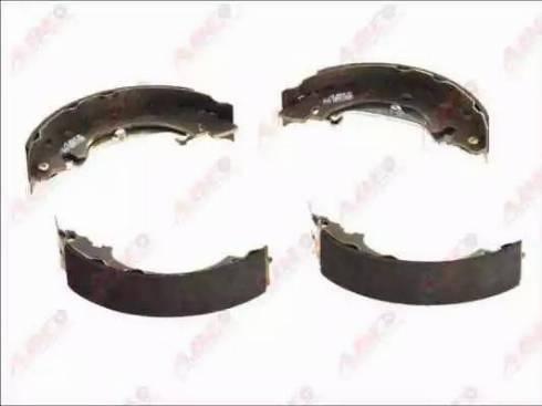 ABE C0R013ABE - Jeu de freins, freins à tambour www.widencarpieces.com