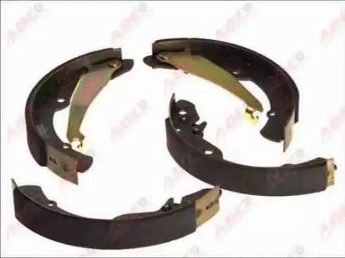 ABE C0S003ABE - Jeu de freins, freins à tambour www.widencarpieces.com