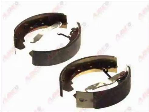 ABE C0W005ABE - Jeu de freins, freins à tambour www.widencarpieces.com