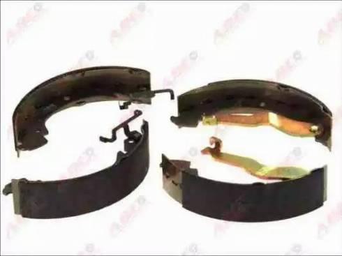ABE C0W011ABE - Jeu de freins, freins à tambour www.widencarpieces.com