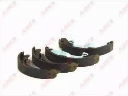 ABE C0X018ABE - Jeu de freins, freins à tambour www.widencarpieces.com