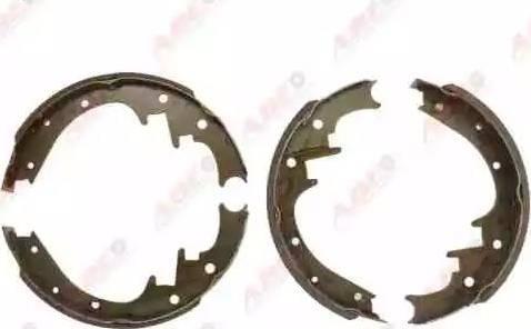 ABE C0Y011ABE - Jeu de freins, freins à tambour www.widencarpieces.com