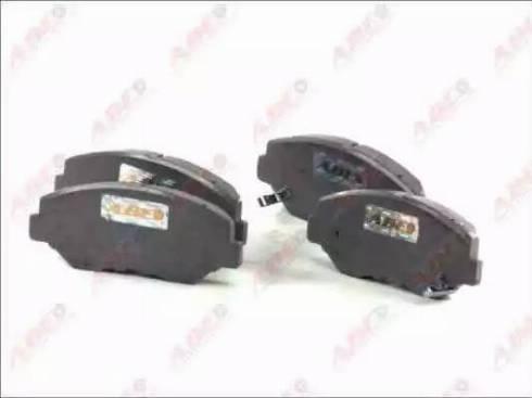 ABE C14049ABE - Kit de plaquettes de frein, frein à disque www.widencarpieces.com