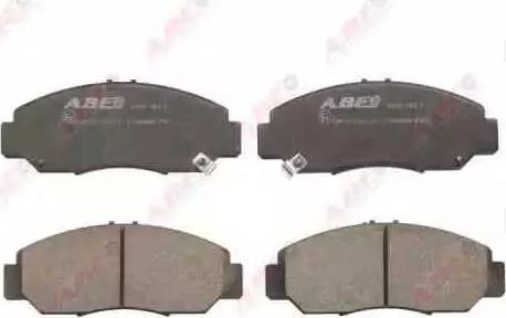 ABE C14046ABE - Kit de plaquettes de frein, frein à disque www.widencarpieces.com