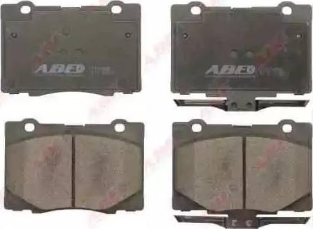 ABE C14054ABE - Kit de plaquettes de frein, frein à disque www.widencarpieces.com
