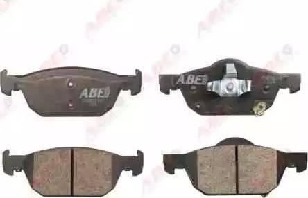 ABE C14055ABE - Kit de plaquettes de frein, frein à disque www.widencarpieces.com