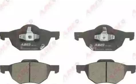 ABE C14050ABE - Kit de plaquettes de frein, frein à disque www.widencarpieces.com