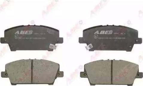 ABE C14051ABE - Kit de plaquettes de frein, frein à disque www.widencarpieces.com