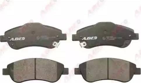 ABE C14053ABE - Kit de plaquettes de frein, frein à disque www.widencarpieces.com