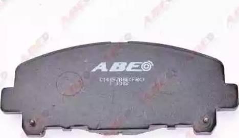 ABE C14057ABE - Kit de plaquettes de frein, frein à disque www.widencarpieces.com