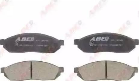 ABE C14004ABE - Kit de plaquettes de frein, frein à disque www.widencarpieces.com