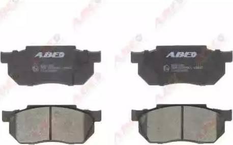 ABE C14019ABE - Kit de plaquettes de frein, frein à disque www.widencarpieces.com