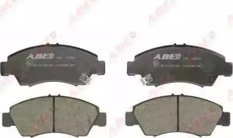 ABE C14034ABE - Kit de plaquettes de frein, frein à disque www.widencarpieces.com