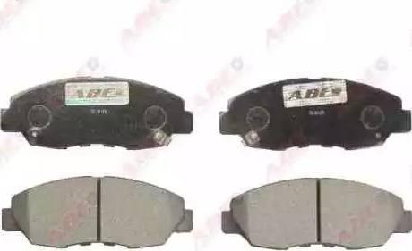 ABE C14030ABE - Kit de plaquettes de frein, frein à disque www.widencarpieces.com