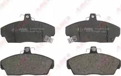 ABE C14031ABE - Kit de plaquettes de frein, frein à disque www.widencarpieces.com