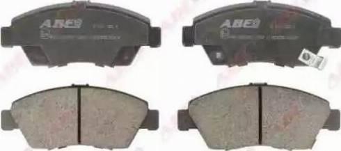 ABE C14033ABE - Kit de plaquettes de frein, frein à disque www.widencarpieces.com