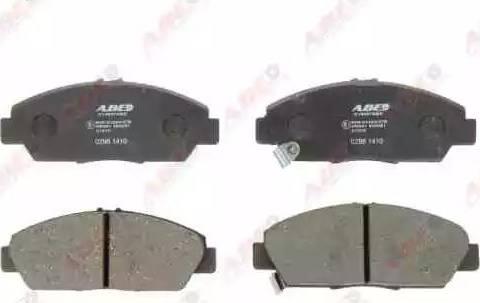ABE C14037ABE - Kit de plaquettes de frein, frein à disque www.widencarpieces.com