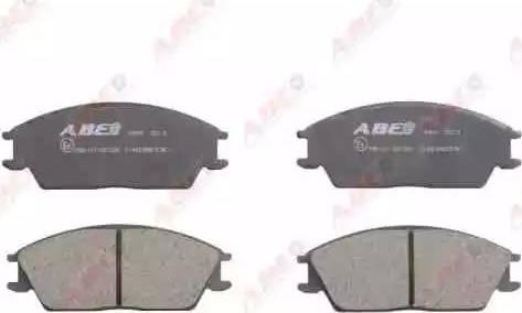ABE C14020ABE - Kit de plaquettes de frein, frein à disque www.widencarpieces.com