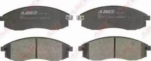 ABE C15045ABE - Kit de plaquettes de frein, frein à disque www.widencarpieces.com