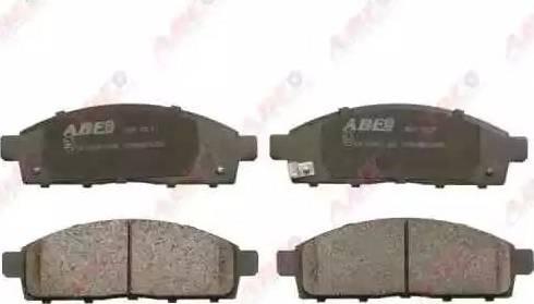 ABE C15046ABE - Kit de plaquettes de frein, frein à disque www.widencarpieces.com