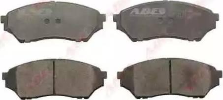 ABE C15041ABE - Kit de plaquettes de frein, frein à disque www.widencarpieces.com