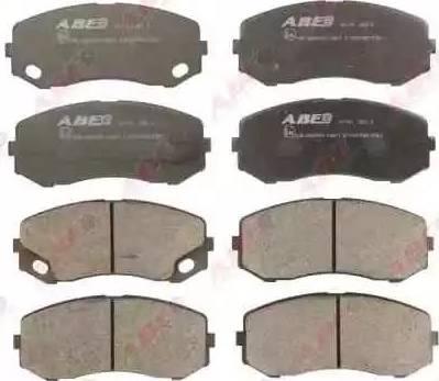 ABE C15047ABE - Kit de plaquettes de frein, frein à disque www.widencarpieces.com