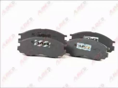 ABE C15000ABE - Kit de plaquettes de frein, frein à disque www.widencarpieces.com