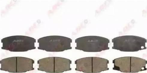 ABE C15039ABE - Kit de plaquettes de frein, frein à disque www.widencarpieces.com