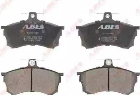 ABE C15034ABE - Kit de plaquettes de frein, frein à disque www.widencarpieces.com